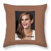Emma Watson Hair Throw Pillow