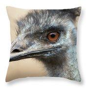 Emu Print 9092 Throw Pillow