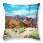 Enchanted Desert Throw Pillow