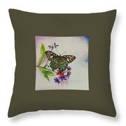 Enchanting Butterfly Throw Pillow