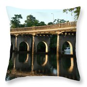 End Of An Era, East Innisfail Jubilee Bridge, Fnq Au  Throw Pillow