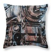 Engine #25 Throw Pillow