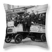 Engine 72 Fdny 1912 Throw Pillow