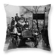 Engine 91 Fdny 1910 Throw Pillow