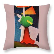 Entry Point Throw Pillow