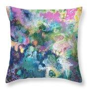 Erol's Joy Throw Pillow