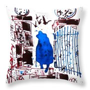 Esquire Throw Pillow