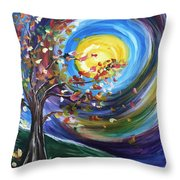 Essence Of Fall Throw Pillow