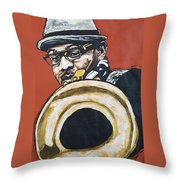 Etienne Charles Throw Pillow