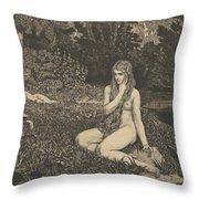 Eva From Eva Und Die Zukunft Throw Pillow