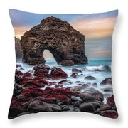 Evening On Playa Los Roques Throw Pillow by Dmytro Korol