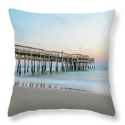 Evening Pastels Throw Pillow