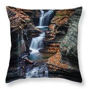 Every Teardrop Is A Waterfall Throw Pillow