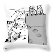 Everyone Who Wants A Catapult Throw Pillow