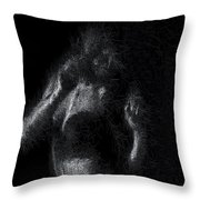 Exhale Throw Pillow by ISAW Company