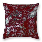 Exotic Harmony Throw Pillow