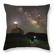 Exploring The North  Throw Pillow by Michael Ver Sprill
