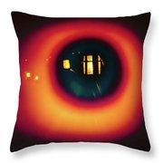 Eye Light Throw Pillow