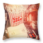 Faded Flashback Throw Pillow