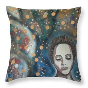 Fairy Lights Throw Pillow