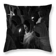 Faith In Numbers Throw Pillow