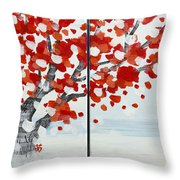 Fall Fall Fall Throw Pillow