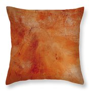 Fall Golden Hour- Abstract Art By Linda Woods Throw Pillow