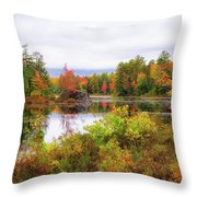 Fall In Nh Throw Pillow