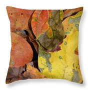 Falling Into Fall Throw Pillow