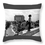 Family Discussion  Throw Pillow