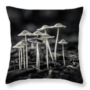 Fanciful Fungus-2 Throw Pillow