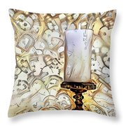 Fantasy Candle Throw Pillow