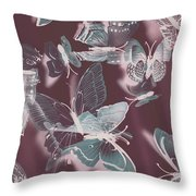 Fantasy Flutters Throw Pillow