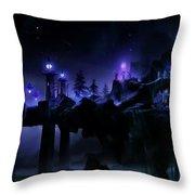 Fantasy Scene Throw Pillow