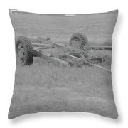 Farm Equipment  Throw Pillow