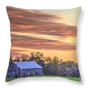 Farm From Beyond 2 Throw Pillow