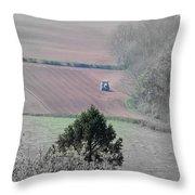Farmer Throw Pillow