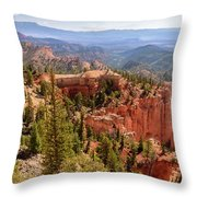 Farview Point - Bryce Canyon - Utah Throw Pillow
