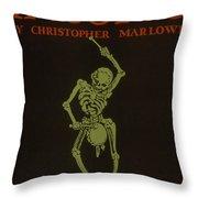 Faustus Throw Pillow