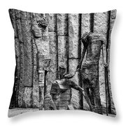 Feeding The Hungry Two 2 Throw Pillow