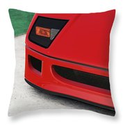 Ferrari F40 - 09 Throw Pillow