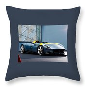 Ferrari Monza Sp1 Throw Pillow