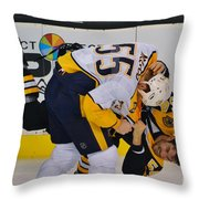 Fight Fight Fight Throw Pillow