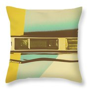 Film Fades Throw Pillow