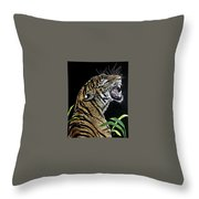 Final Warning Throw Pillow