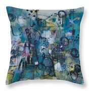 Finding Magnificence Throw Pillow