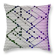 Finding My Marbles Throw Pillow