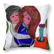First Love Throw Pillow