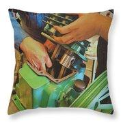 Fixing A Compressor Pump Throw Pillow