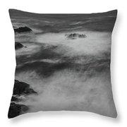Flat Water Surface Throw Pillow